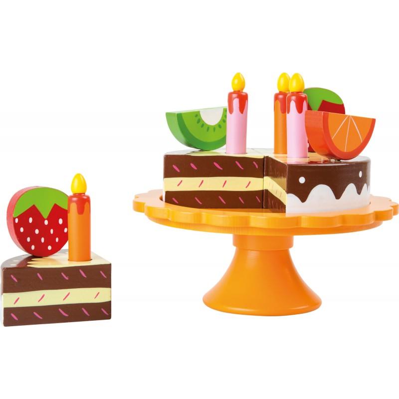Gateau d 39 anniversaire en bois - Jeux de cuisine de gateaux d anniversaire ...