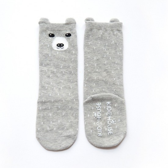 Chaussettes Ours gris