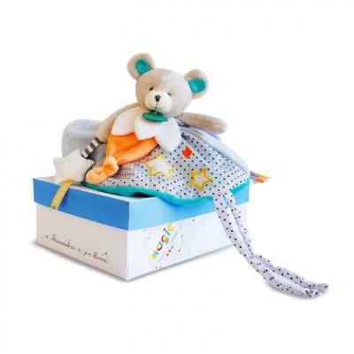 Doudou et cie, ourson : cadeau de naissance idéal pour bébé