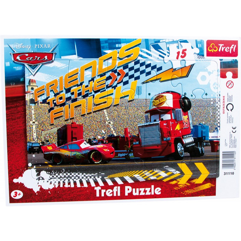 Puzzle 15 pièces Cars