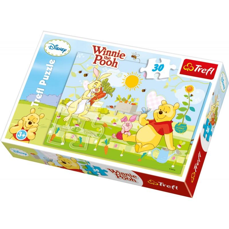 Puzzle 30 pièces Winnie L'Ourson