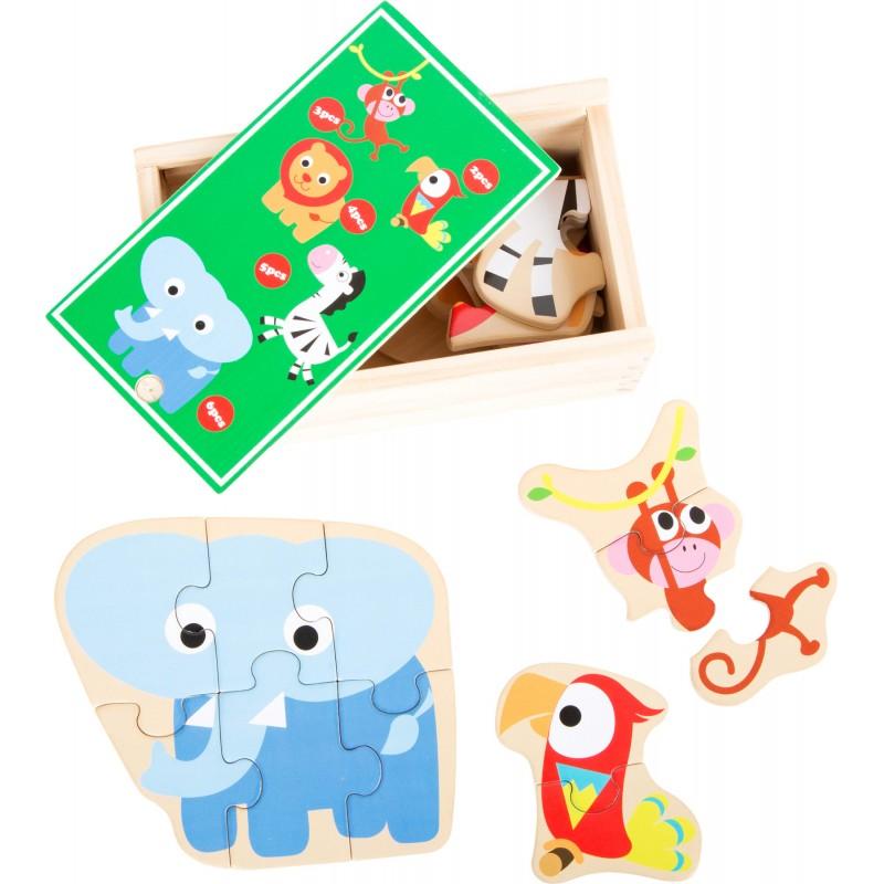 Boîte de 5 puzzles