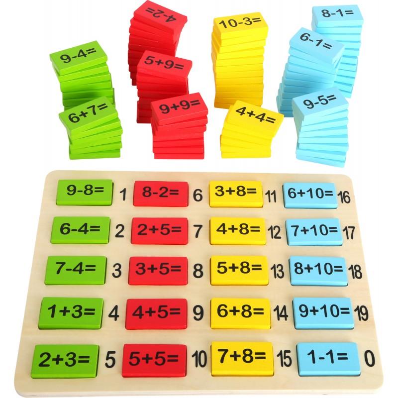 Table de calculs