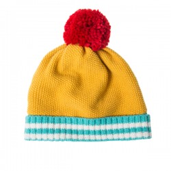 PopCorn Knit Hat - Yellow