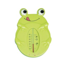 Frog bath thermometer