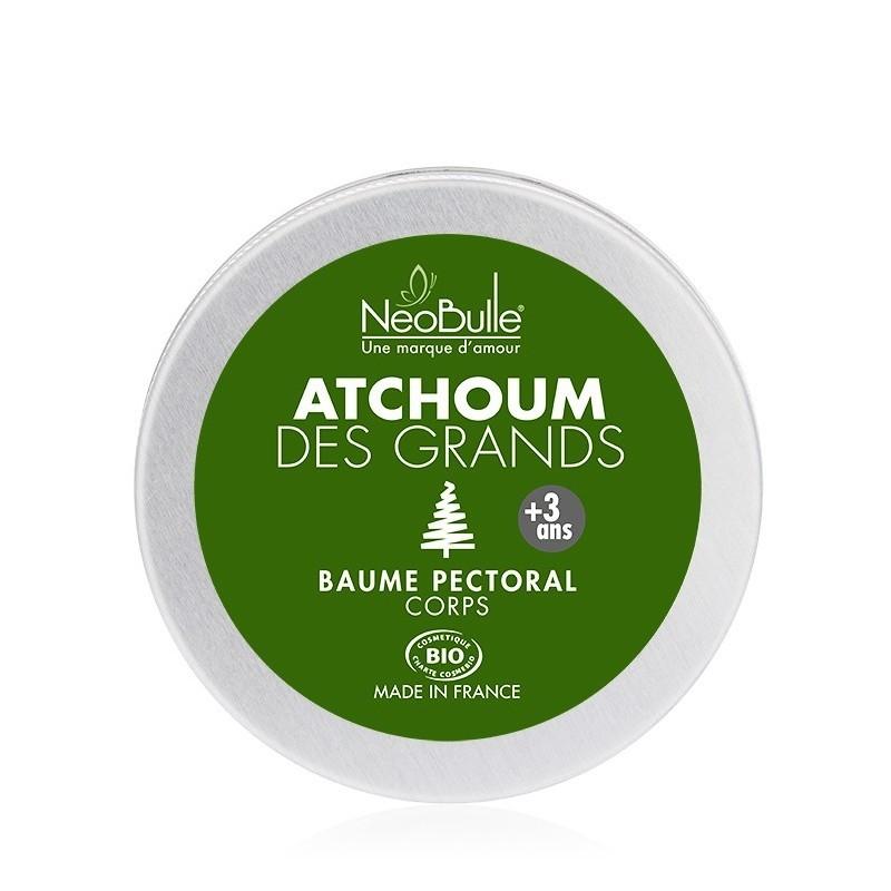Atchoum, huile de soin