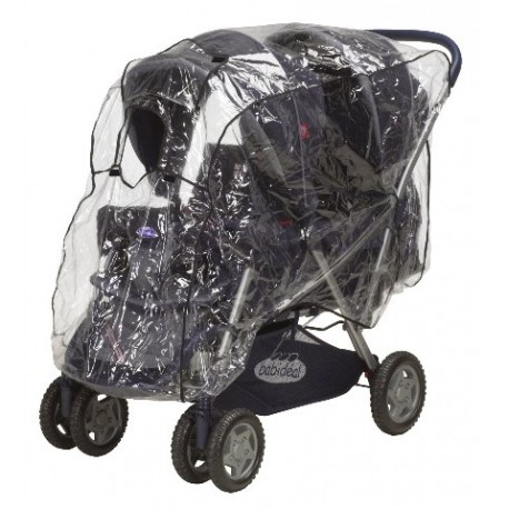 Universal rain cover for Twin Stroller