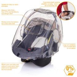 Rain cover for baby car seat