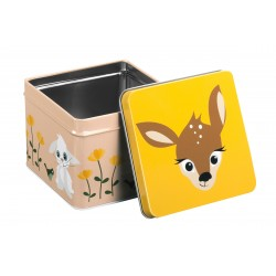 Small metal box - Deer