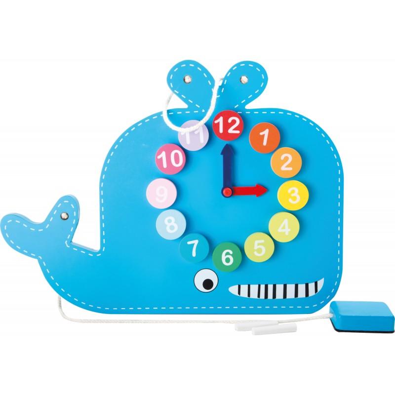 Horloge éducative 2 en 1