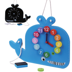 Learning Clock Whale 2 in 1