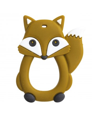 Fox silicon teether