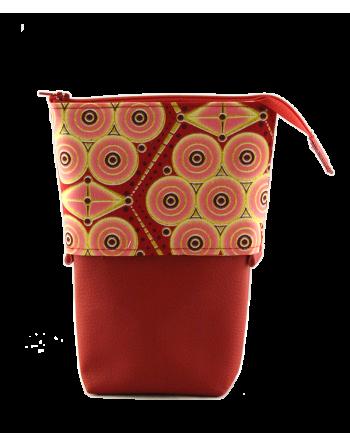 Trousse pot à crayons - Wax