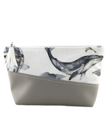 Make-up case - Whale