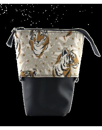 Trousse pot à crayons - Tigres