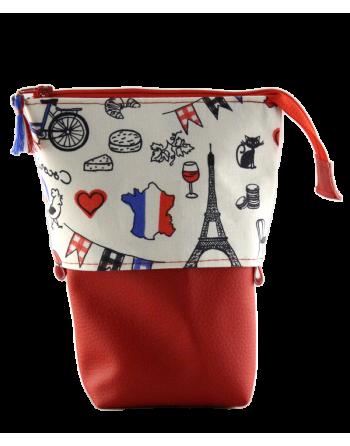 Trousse pot à crayons - France