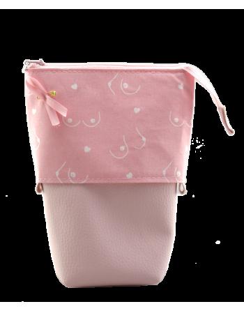 Pencil case - Pink October