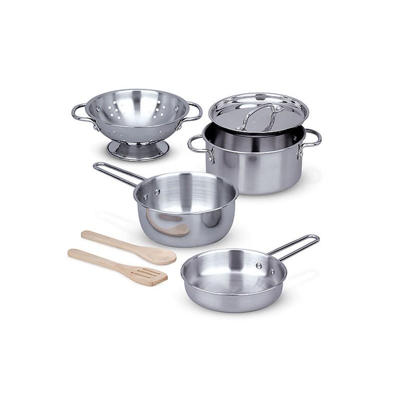 Set de cuisine en Inox