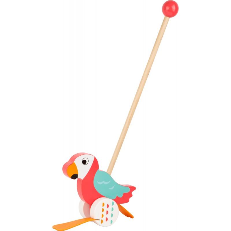 Lori le perroquet à pousser