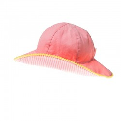 Canvas Coral Sun Hat