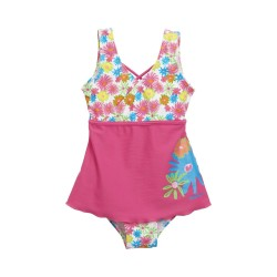Girl swimsuit - Flowers