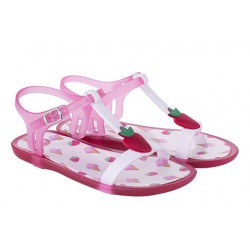 TRICIA sandal - Strawberries