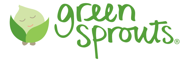 bavoir green sprouts